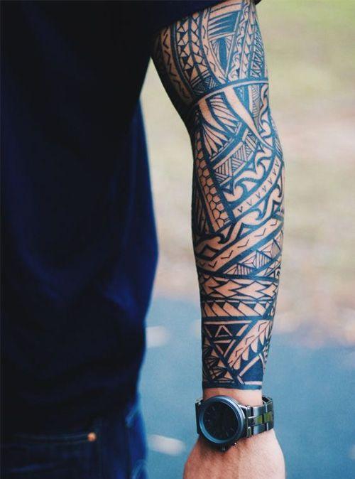 Great Full Sleeve Tattoo Ideas for Men
