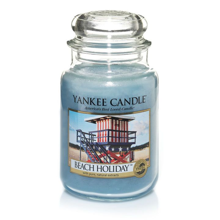 Beach Holiday - Candles - Yankee Candle - gorgeous quite strong scent