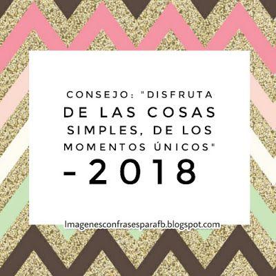 Consejos bonitos para tu 2018