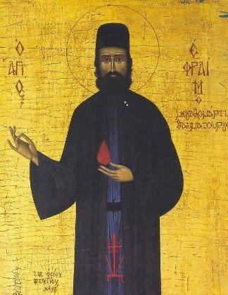 Αμαρτωλών Σωτηρία : Άγιο Εφραίμ τον Μεγαλομάρτυρα και Θαυματουργό Νέας Μάκρης