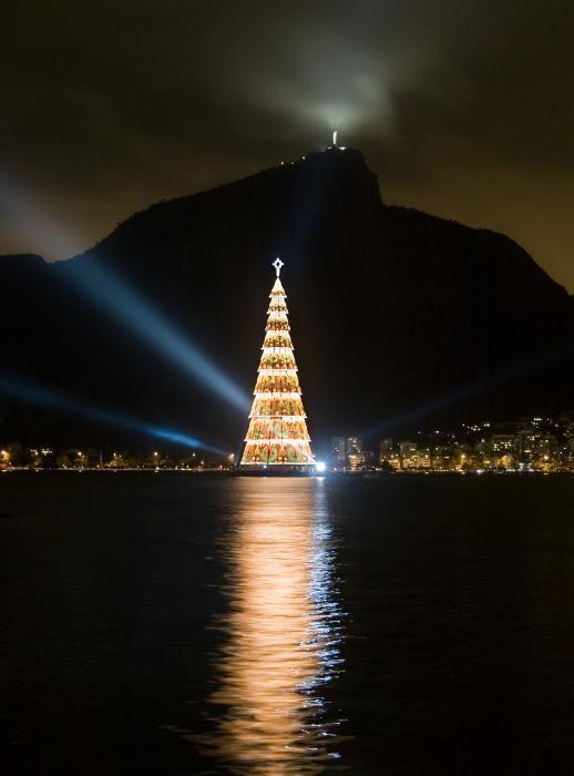 Christmas in Rio De Janeiro, Brazil