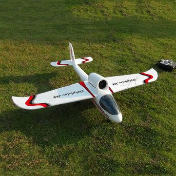 Dolphin Jet 1010mm Wingspan EPO Glider With Landing Gear RC Airplane KIT