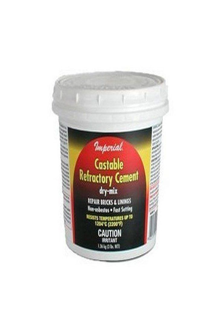 24 99   Imperial KK0061 Castable Refractory Cement, 3 lbs