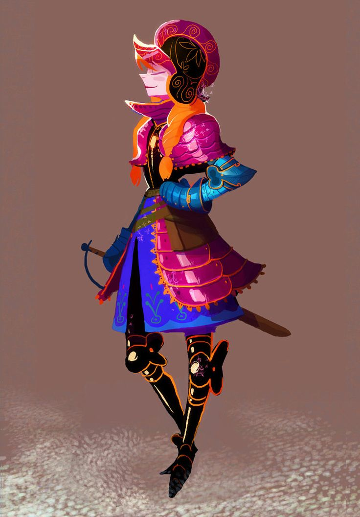 Armored Princess Anna by Art-Calavera ★ || CHARACTER DESIGN REFERENCES (www.facebook.com/CharacterDesignReferences & pinterest.com/characterdesigh) • Do you love Character Design? Join the Character Design Challenge! (link→ www.facebook.com/groups/CharacterDesignChallenge) Share your unique vision of a theme every month, promote your art, learn and make new friends in a community of over 16.000 artists who share your same passion! || ★