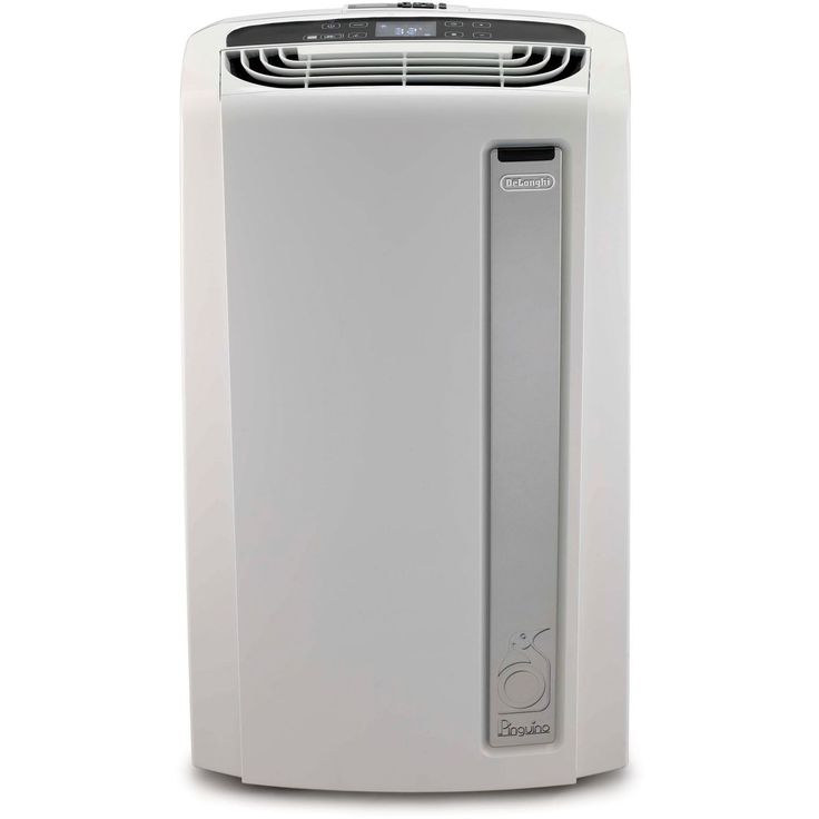 DeLonghi PAC-AN120EW Pinguino 12,000-BTU Whisper-quiet Portable Air Conditioner With BioSilver Air Filter (White)