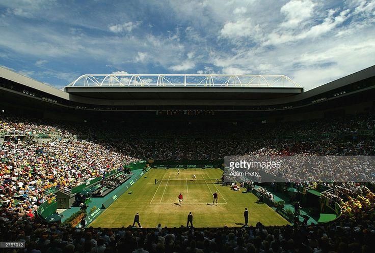 Photo d'actualité : General view of Rod Laver Arena during the...