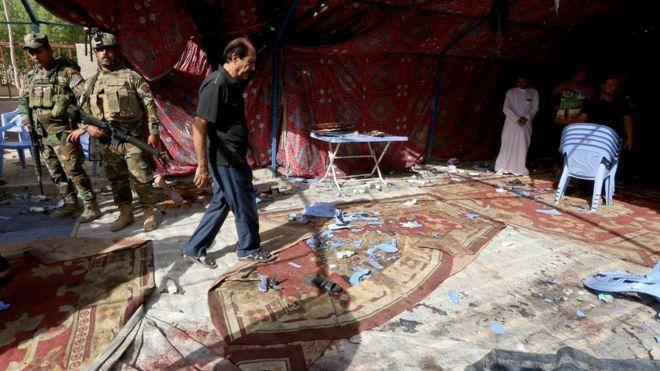 10/15/16 Iraq violence: Dozens dead in Baghdad suicide attack on Shia