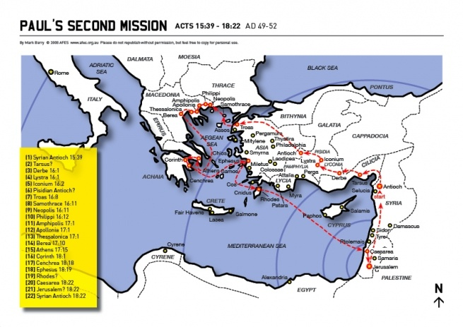 acts pentecost map