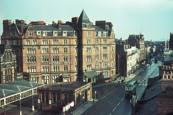The Victoria Hotel pictured in the 1960s