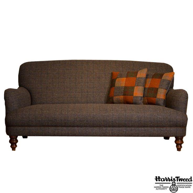 Tweed sofa bed uk refil sofa for Sofa bed jual