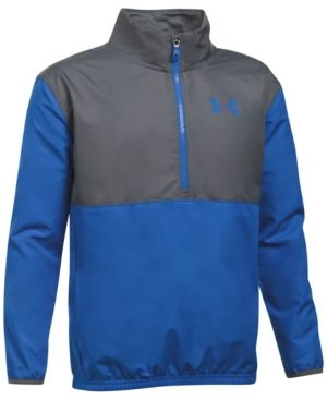 Under Armour Ua Storm Tech Train To Game Jacket, Big Boys (8-20) - Grey/Blue S