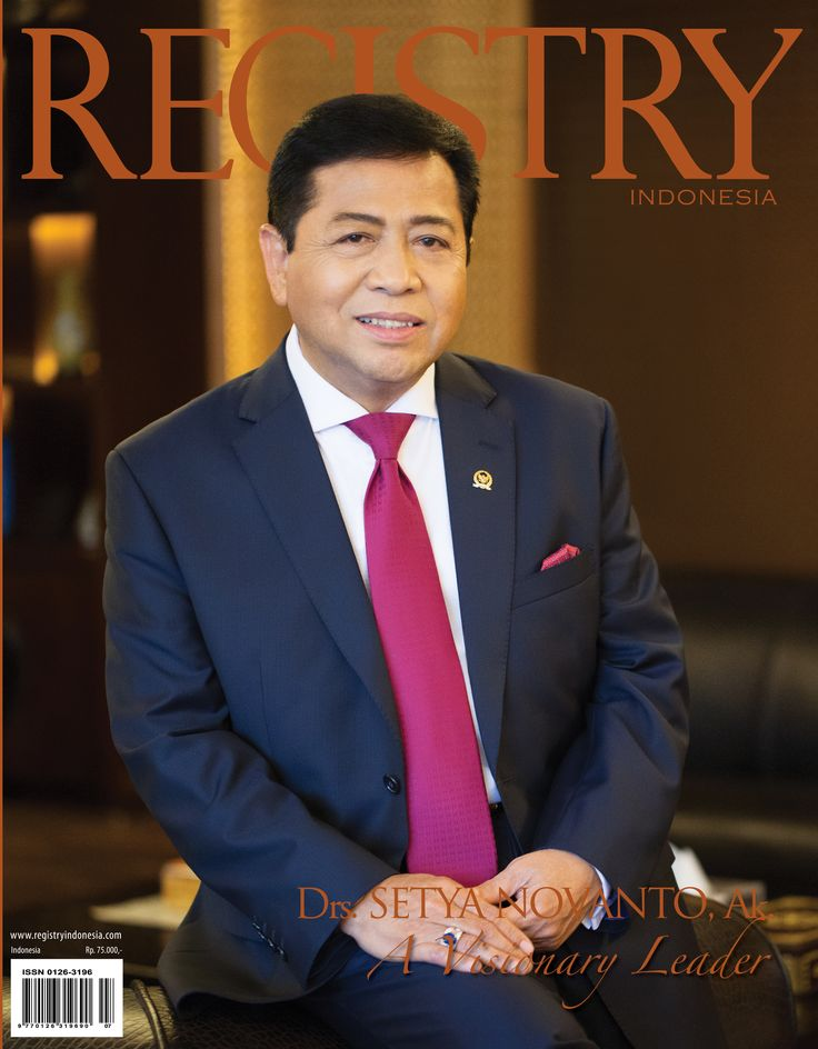 #Registry e Magazine #Photographer : Registry Indonesia #Socialite : Dr. Setya Novianto  The Speaker of Indonesian House of representatives, is truly a charismatic leader with visionary capabilities.   #RegistryE #Profile