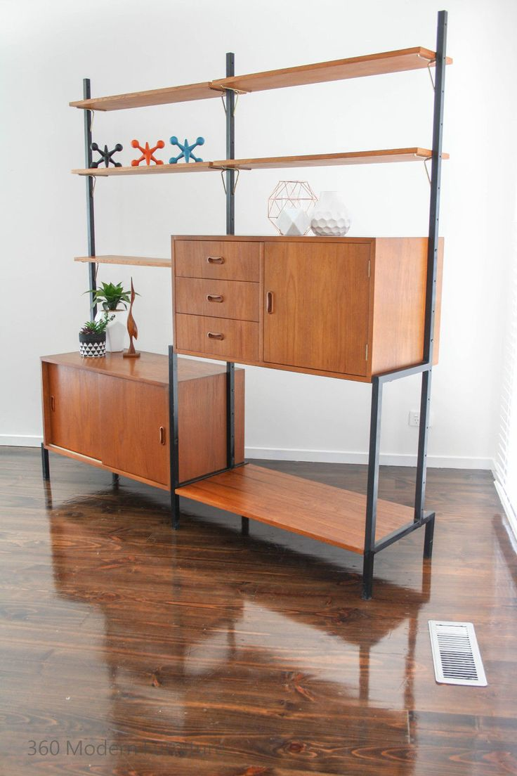 40 best Mid Century Wall Units by 360 Modern Furniture images on ...