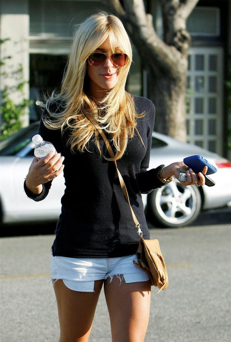Sweater and shorts - casual wear
