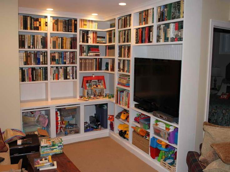 Best Build Built In Bookcases Images On Pinterest Built In - Diy built in bookshelves