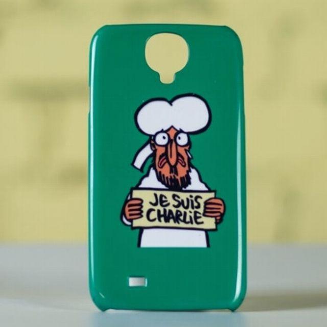 Una cover per cellulare #CharlieHebdo