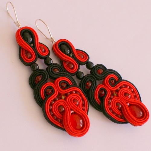 DILETTANTEsoutache: Soutache Earrings, Soutache Jewelry Tutorial