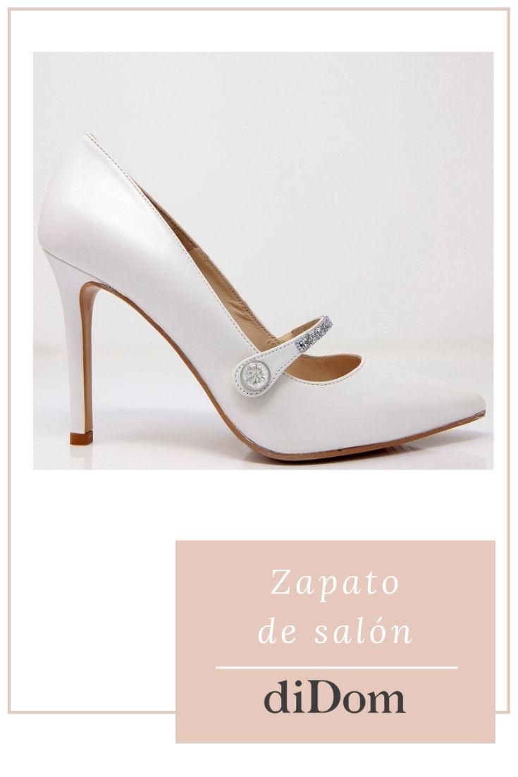 Tanzania veinte Comercial  Salón Con Tacón De 9,5 Cm Y Tira De Cristales Swarovski | Zapatos de salón,  Zapatos de novia, Zapatos de fiesta