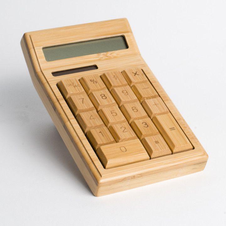 | Houten Bamboe calculator / rekenmachine | www.wood-stuff.com | | ook verkrijgbaar bij #webshopsonly #conceptstore #Vughterstraat 47,#denbosch