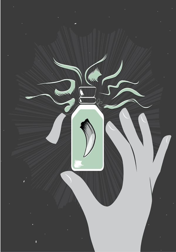 El cuerno de la abundancia // Escritora Irene Pozonegro + Ilustradora Kristina Supernova #arroznegro