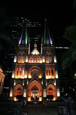 """""""Catedral Presbiteriana"""". Rio de Janeiro, Brasil."""