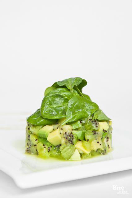 Tartare Kiwi-Avocat