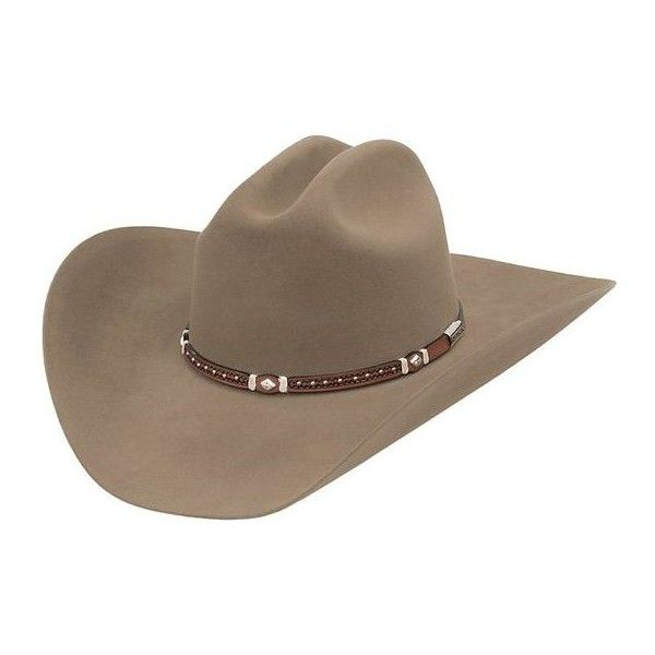 Stetson Felt Hats ❤ liked on Polyvore featuring accessories, hats, stetson hats, western style hats, cowboy hat, felt cowgirl hats and felt cowboy hats