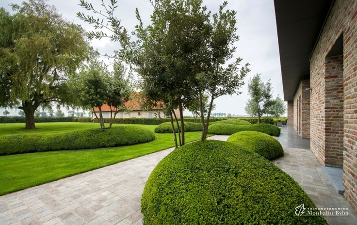 Aangelegde tuinen door tuinonderneming monbaliu landschapstuin rond zuienkerse polder hoeve - Aangelegde tuin ideeen ...