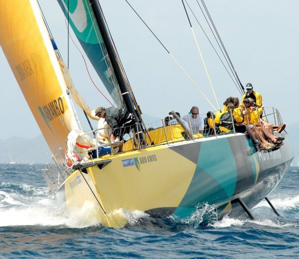 Sailing with the ABN AMRO One –winner of the Volvo Round-the-world Ocean Race -…