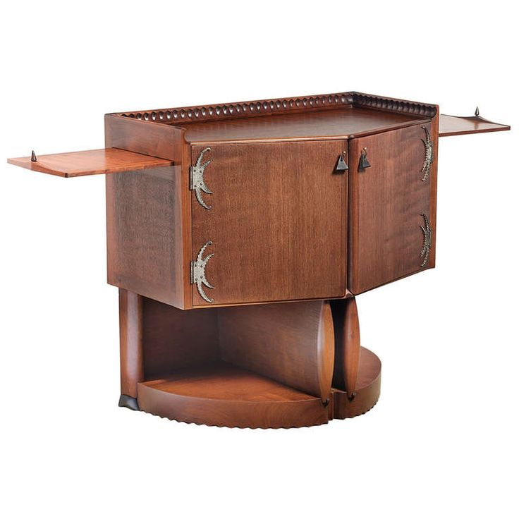 Rare Art Deco Tea Cabinet by Michel de Klerk, 1916 | From a unique collection of antique and modern cabinets at http://www.1stdibs.com/furniture/storage-case-pieces/cabinets/