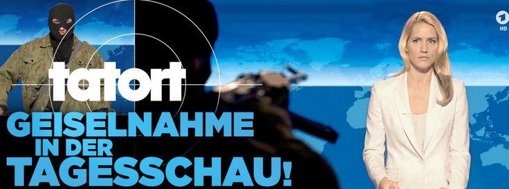 """Judith Rakers im Kult-Krimi -  """"Tatort"""" schockt mit Geiselnahme in """"Tagesschau"""" http://www.bild.de/unterhaltung/tv/tatort/krimi-schockt-mit-geiselnahme-in-der-tagesschau-44002012.bild.html"""