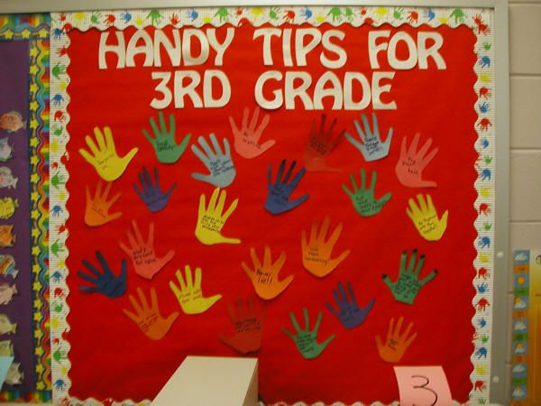 """On the last day of school, students come up with a list of """"handy tips ..."""