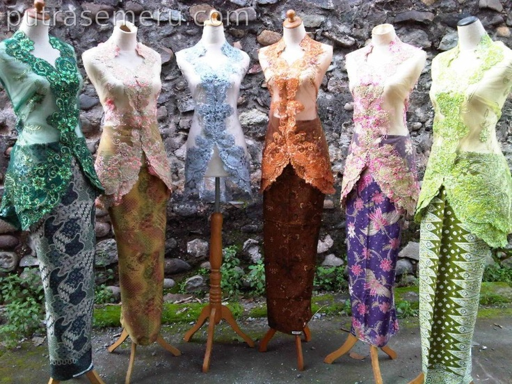 Kebaya Modern Wire with 6 color and you can visit detail ini http://putrasemeru.com