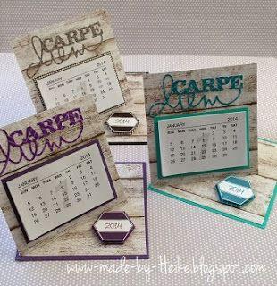 """Meine kreative Welt...: """"Mini-Tischkalender""""..."""