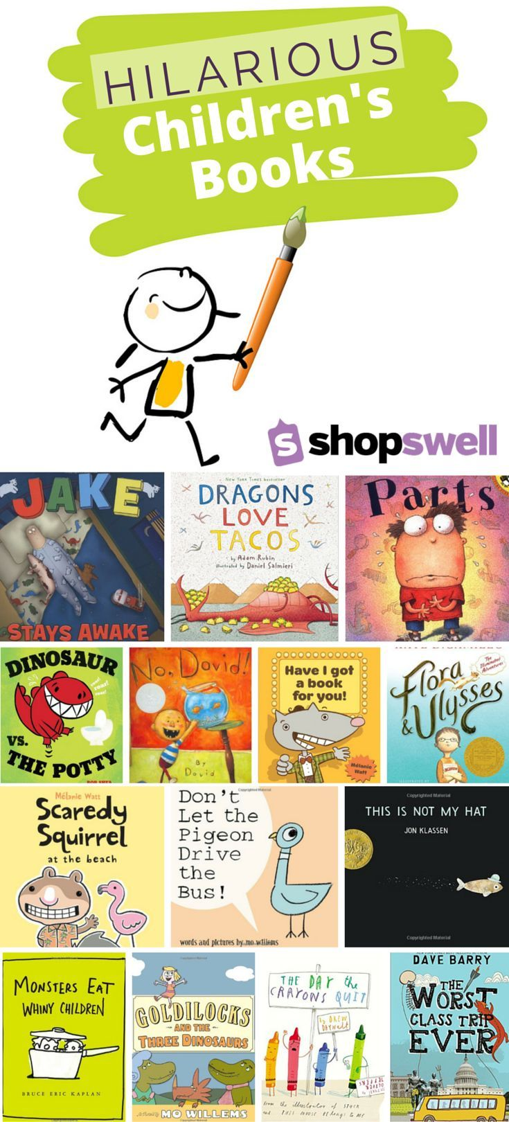 These laugh out loud picture books make reading aloud a fun affair for everyone.