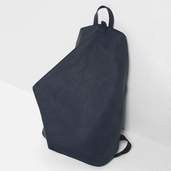 Image 5 of ASYMMETRIC BACKPACK from Zara