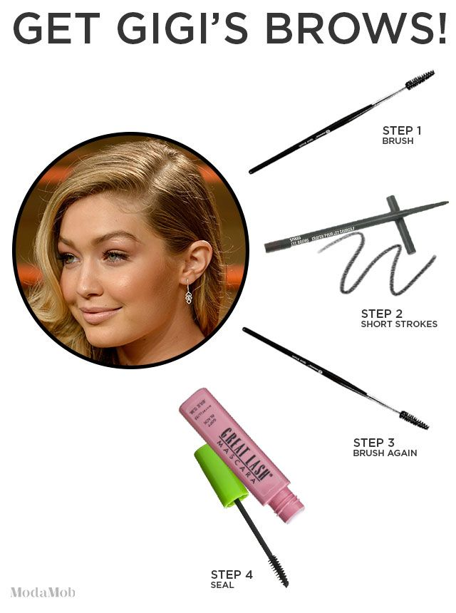 How to Get Gigi Hadid's Brows | ModaMob