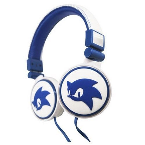 Sonic The Hedgehog casque audio gaming 3D Blue/White ref 306