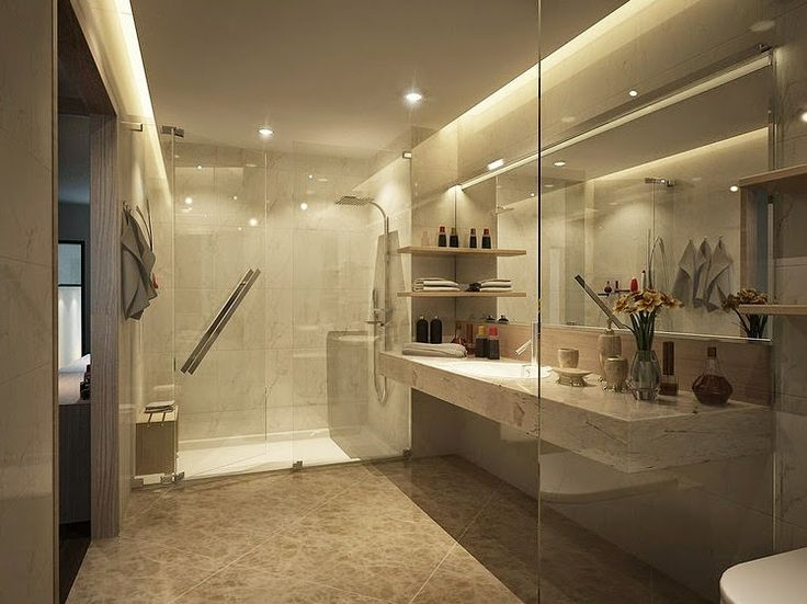 126 best dise os de ba os images on pinterest bathroom Master en arquitectura de interiores