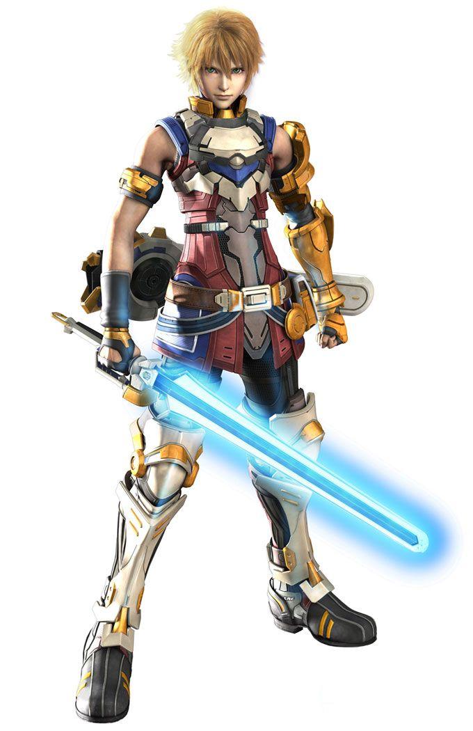 ✧ #characterconcepts ✧ Edge Maverick from Star Ocean 4: The Last Hope