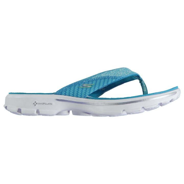 Skechers   Skechers Go Walk Ladies Flip Flops   Ladies Sandals and Flip Flops