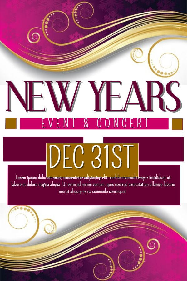 28 best New Year Flyer Templates images on Pinterest Templates - fun poster templates