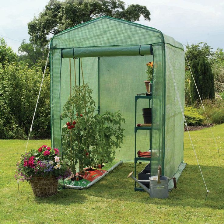 Have to have it. Gardman Walk-In 4 x 6 ft. Greenhouse with Shelving - $76.15 @hayneedle