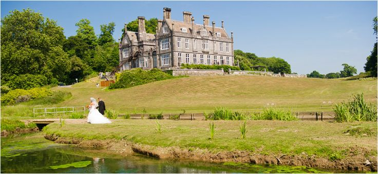 Kitley House in Plymouth, Devon is a hotel set on 600 acres of wooded and pasture land.