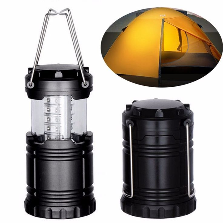 2pcs Ultra Bright Collapsible 30 Led Camping Lanterns Lightweight Portable Tent Light For Hiking Camping Emergencies Use #Affiliate