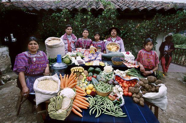 Guatemala: The Mendozas of Todos Santos    Food expenditure for one week: 573 Quetzales or $75.70  Family Recipe: Turkey Stew and Susana Perez Matias's Sheep Soup