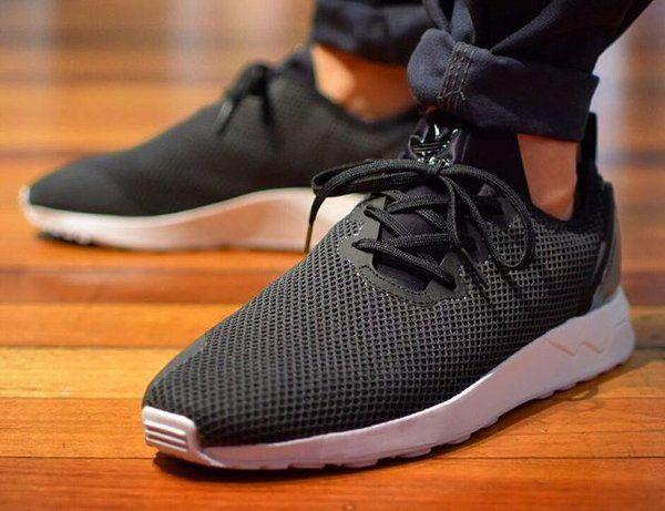 adidas zx flux triple black homme