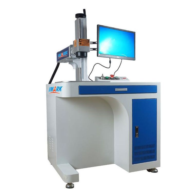 China produce low price portable 20W 30w 50w mopa fiber laser marking machine for mental