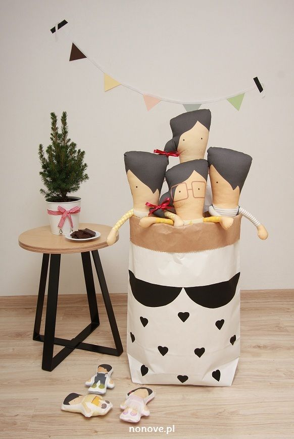 paper bag #minkjuu #nonove #kidsroom #girl #design #boy #girl