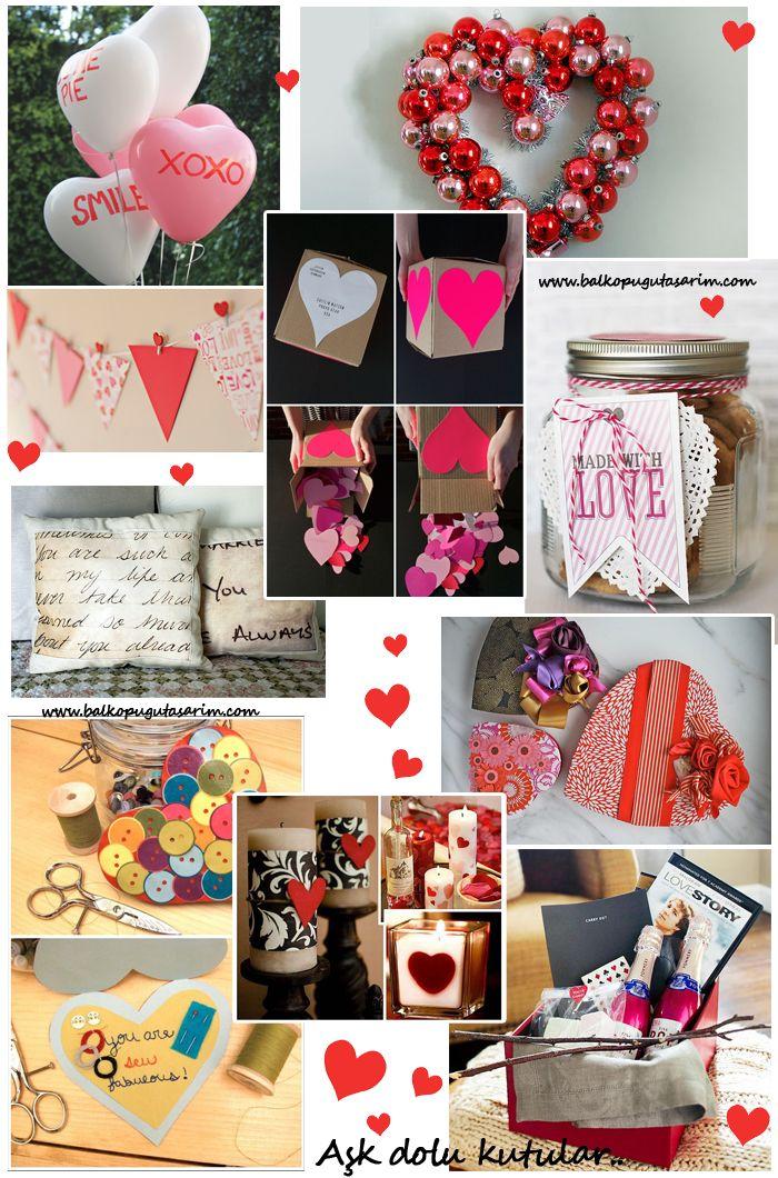 Kendin Yap: Sevgililer Günü Hediyeleri - Balköpüğü Blog | Alışveriş, Dekorasyon, Makyaj ve Moda Blogu